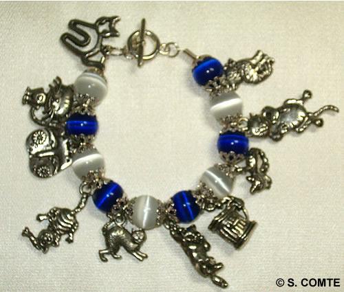 Bracelet petits chats