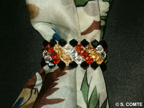 Anneau de foulard Automne
